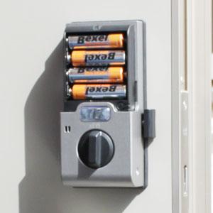家庭用の電気錠